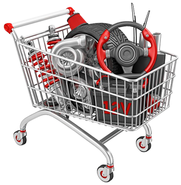 Auto Parts E-Commerce website